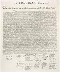 Dichiarazione d'indipendenza degli Stati Uniti d'America - Wikipedia