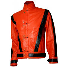 mj thriller michael jackson leather
