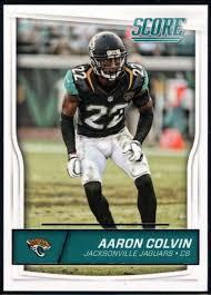 Amazon.com: 2016 Score #155 Aaron Colvin Jaguars NFL Football Card ...