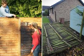 Storms Cause Black Market In Fence Panels With National Shortage Leading To Crime Spree Mirror Online