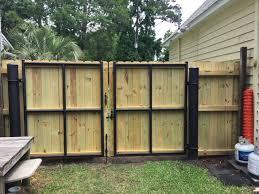 Residential Heavy Duty Gate Aaa Fence Charleston