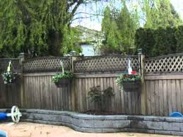 Fence Post Hanging Basket Hangers Youtube