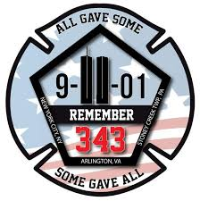September 11th 9 11 Memorial Window Decal Police Fire Ems Viny Graphics Stickers Decals Dkedecals