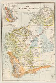 Maps At The State Library Of Nsw Map Of Western Australia 1913 Western Australian