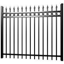 Black Aluminum Tubular Fence Black Aluminum Tubular Fence Suppliers And Manufacturers At Alibaba Com