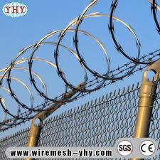 China Fencing Type Razor Barbed Wire China Bare Wire Fence Barber Razor Wire