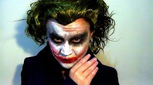 joker make up tutorial