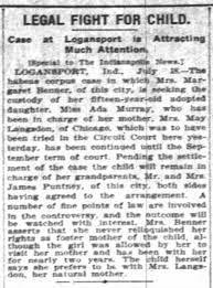 Ada Murray custody case - Newspapers.com