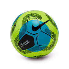 Ball Nike Premier League Pitch 2019-2020 Volt-Light blue-Black - Football  store Fútbol Emotion