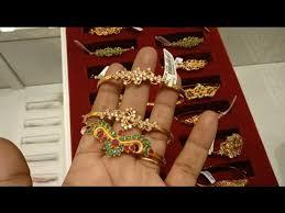 22 carat gold kada bangles collection