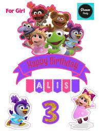 Muppet Babies Fiestas De Cumpleanos De Bebe Muppet Babies