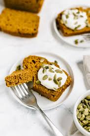 pumpkin bread with spelt flour and