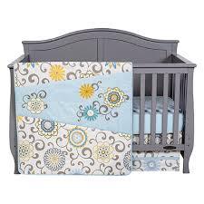trend lab pom pom crib bedding set