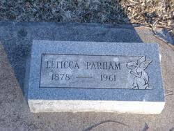 Mary Leticia Smith Parham (1878-1961) - Find A Grave Memorial