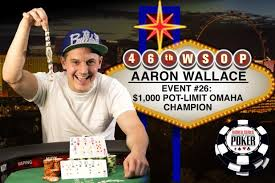WSOP NEWS: FROM-A-SATELLITE--SEAT-TO-WSOP-GLORY-FOR-AARON-WALLACE