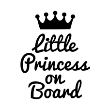 Little Princess On Board Cute Car Stickers Buy At A Low Prices On Joom E Commerce Platform