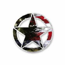 Us Flag Army Star Vinyl Decal Car Truck Laptop Sticker Military Veteran Low Priced Decals Lots Of Designs