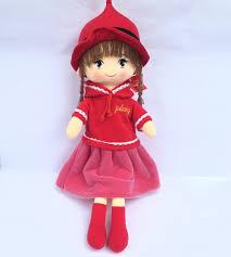 Thú bông búp bê váy đỏ cỡ lớn cao 75cm - Thú Nhồi Bông Tác giả OEM ...