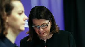 Victorian Health Minister Jenny Mikakos ...