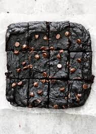 healthy black bean avocado brownies