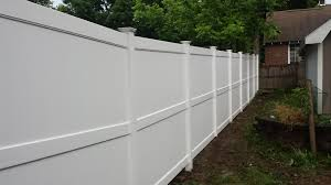 Vinyl Privacy Fence New Hartford Ny Poly Enterprises Fencing Decking Railing