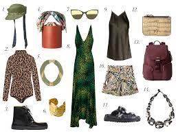 stylish safari inspired looks