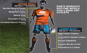 mammoth strength rugby workout routine