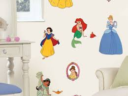 Princess Castle Wall Decals Theme Large Disney Amazon Art Crown For Bedroom Removable Quote Vamosrayos