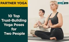 yoga poses for two people partner
