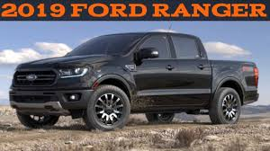 2019 ford ranger specs and details