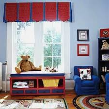 Unique Top Treatments For Kids Room Windows