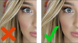 makeup from creasing under your eyes