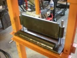 homemade press brake homemadetools net