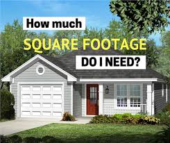 how much square footage do i need for a
