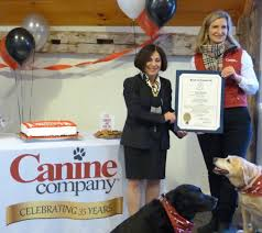 Wilton S Canine Company Honored By State On 35th Anniversary Wilton Ct Patch