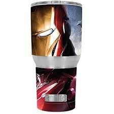 Skin Decal Vinyl Wrap For Rtic 30 Oz Tumbler Cup Stickers Skins Cover 6 Piece Kit Ironman Walmart Com Walmart Com