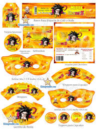 Kit Imprimible De Dragon Ball