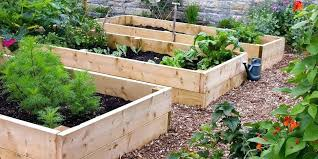 raised garden bed making beds from old