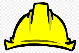 Hat Cartoon Clipart Hat Construction Yellow Transparent Clip Art
