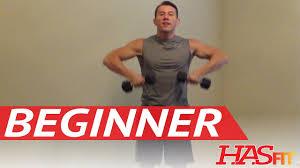 15 minute beginner weight training