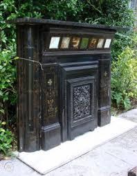 aesthetic art fireplace surround mantel