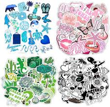 Amazon Com 200pcs Mixed Stickers For Water Bottles Cute Funny Waterproof Vinyl Stickers Decals For Teens Girls And Women Unique Durable Aesthetic Trendy Stickers Perfect For Hydro Flask Laptop Computer Phone Kitchen Dining