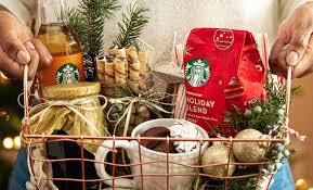 gift basket ideas starbucks coffee
