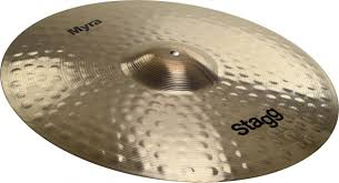 """Amazon.com: Stagg MY-RB21 Myra Bell Ride Cymbal - 21"""": Musical Instruments"""