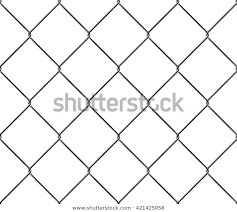 Seamless Texture Metal Mesh Fence Vector Stock Vector Royalty Free 421425058