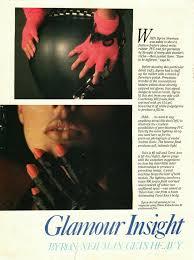 Glamour Insight: Byron Newman Gets Heavy - Digital Transgender Archive