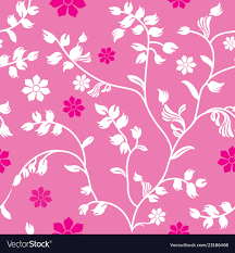 pink fl wallpaper pattern royalty