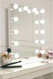 wall mirror make up with lights vanity