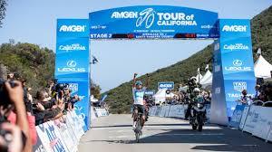 amgen tour of california soars through