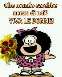 Auguri Festa delle Donne Mafalda - BellissimeImmagini.it